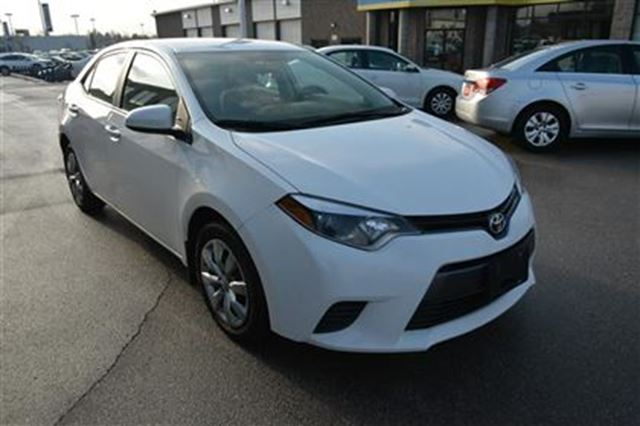 2015 toyota corolla le white gorruds auto group milton. Black Bedroom Furniture Sets. Home Design Ideas