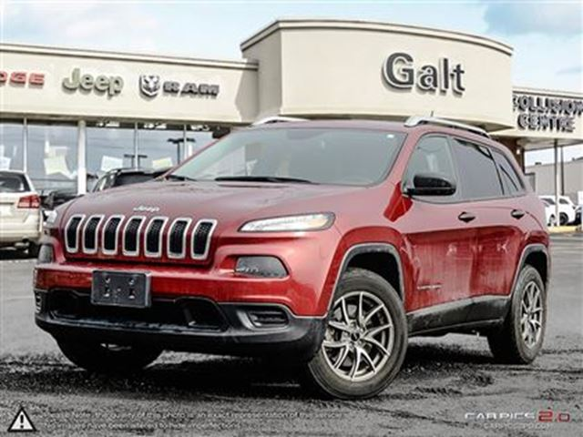 2015 JEEP Cherokee SPORT   COLD WEATHER PKG   REAR BACK-UP CAM in Cambridge, Ontario