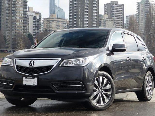 2014 acura mdx tech at vancouver british columbia used car for sale 2709672. Black Bedroom Furniture Sets. Home Design Ideas
