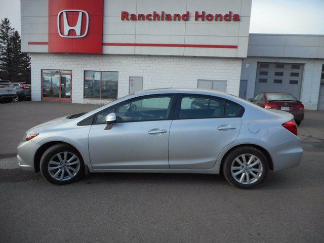 2012 HONDA CIVIC EX in Williams Lake, British Columbia