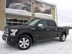 2016 Ford F-150 Platinum, 3.5L Ecoboost, Toit Pano in Sainte-Marie, Quebec