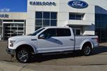 2015 Ford F-150 Lariat 4x4 SuperCrew Cab 6.5 ft. box 157 in. WB in Kamloops, British Columbia