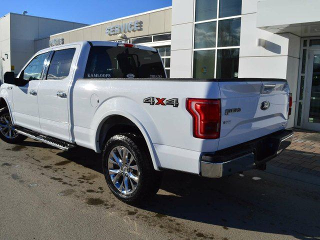 2015 ford f 150 lariat 4x4 supercrew cab 6 5 ft box 157 in wb kamloops british columbia. Black Bedroom Furniture Sets. Home Design Ideas