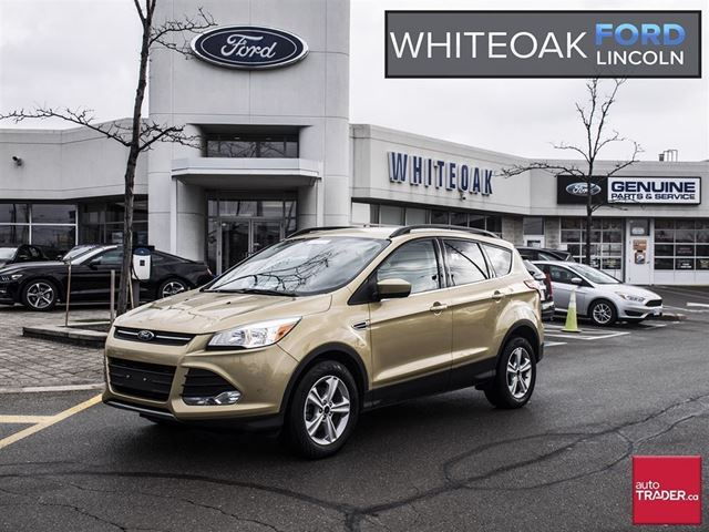 2015 ford escape se factory certified extended warranty leath beige whiteoak ford lincoln. Black Bedroom Furniture Sets. Home Design Ideas