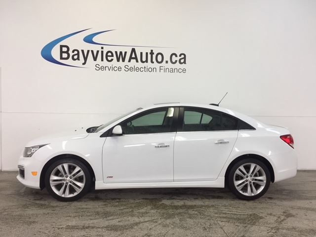 2015 chevrolet cruze ltz rs pkg turbo ecotec navi leather roof belleville ontario. Black Bedroom Furniture Sets. Home Design Ideas
