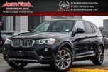 2017 BMW X3 xDrive28i Premium Essential Pkg Nav Pano_Sunroof Pkng Sensors 19Alloys in Thornhill, Ontario