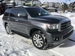 2015 Toyota Sequoia LIMITED  AWD + DVD Entertainment & Remote Start in Mississauga, Ontario