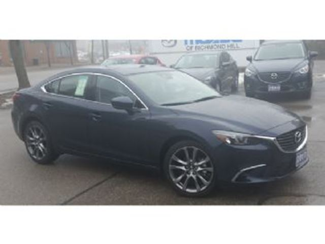 2017 mazda mazda6 4dr gt mississauga ontario car for sale 2710306. Black Bedroom Furniture Sets. Home Design Ideas