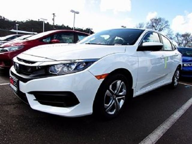 2017 honda civic sedan lx cvt white lease busters. Black Bedroom Furniture Sets. Home Design Ideas