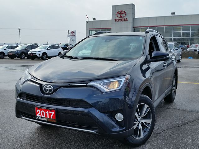 2017 toyota rav4 xle lindsay ontario new car for sale 2709913. Black Bedroom Furniture Sets. Home Design Ideas