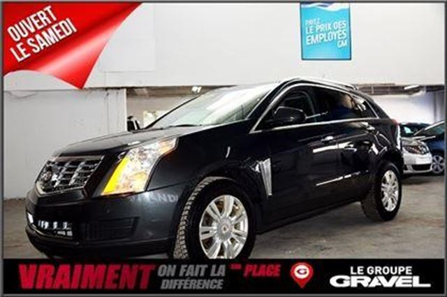 2014 cadillac srx luxury montreal quebec used car for. Black Bedroom Furniture Sets. Home Design Ideas