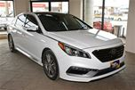 2016 Hyundai Sonata SPORT 2.0T, LEATHER, NAVIGATION, MOONROOF in Milton, Ontario
