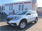 2015 Honda CR-V LX - 1.99% Financing in Mississauga, Ontario