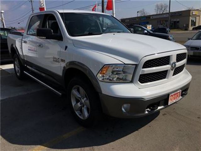 2013 dodge ram 1500 outdoorsman nicely equipped burlington ontario. Cars Review. Best American Auto & Cars Review