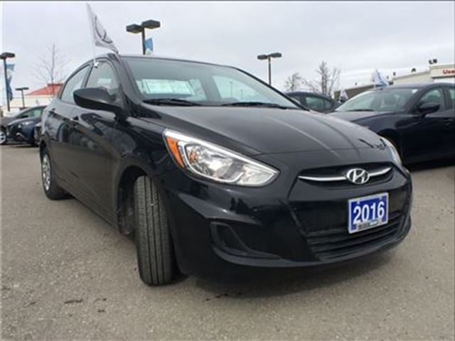2016 hyundai accent gl mississauga ontario used car for sale 2711154. Black Bedroom Furniture Sets. Home Design Ideas