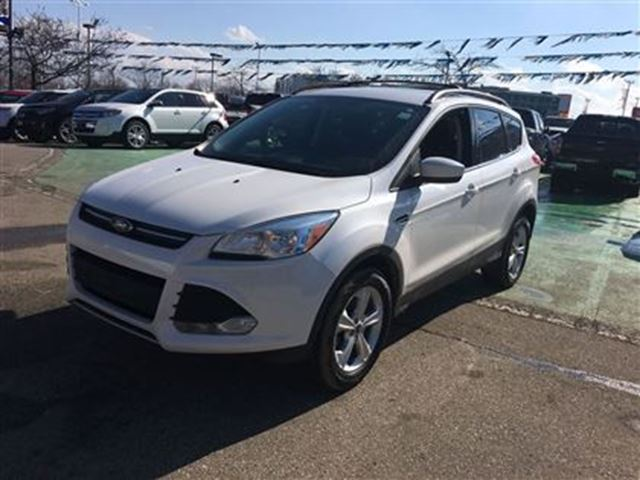 2013 ford escape se white meadowvale ford. Cars Review. Best American Auto & Cars Review