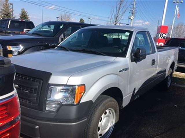 2014 ford f 150 xl 4x2 regular cab 3 7l v6 mississauga ontario used car for sale 2710460. Black Bedroom Furniture Sets. Home Design Ideas