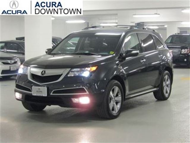 2013 acura mdx technology no accident rear dvd navi blind sport w toronto ontario used car. Black Bedroom Furniture Sets. Home Design Ideas