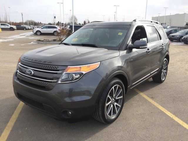 2015 ford explorer xlt edmonton alberta used car for sale 2711238. Black Bedroom Furniture Sets. Home Design Ideas