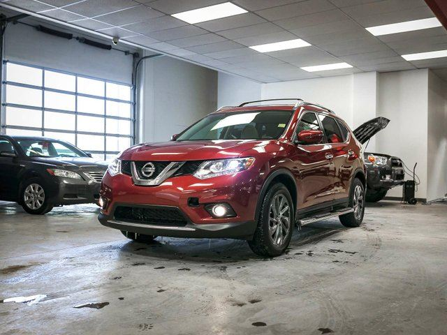 2016 nissan rogue sl premium awd navigation leather heated seats sunroof touch screen. Black Bedroom Furniture Sets. Home Design Ideas