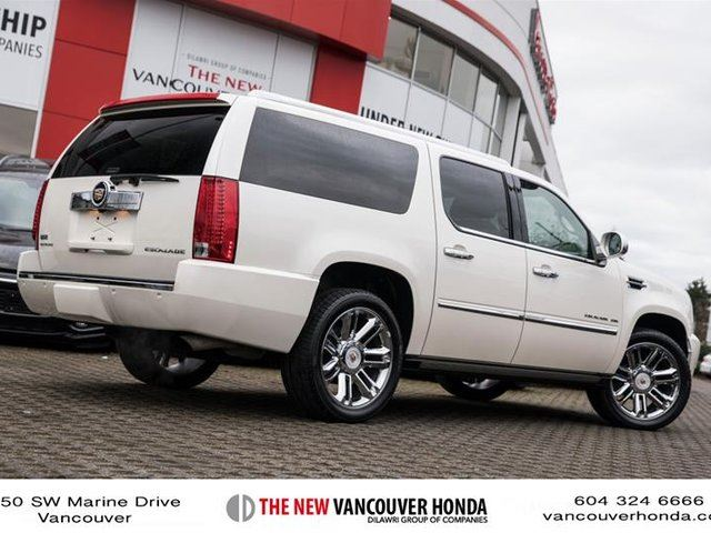 2012 cadillac escalade esv awd vancouver british. Black Bedroom Furniture Sets. Home Design Ideas