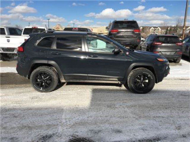 2016 Jeep Cherokee Trailhawk Leather Heated Seats Remote