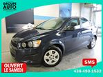 2015 Chevrolet Sonic LS  FUTUR ARRIVAGE in Longueuil, Quebec