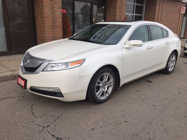 2009 acura tl w nav pkg original owner mississauga ontario used car for sale 2710803. Black Bedroom Furniture Sets. Home Design Ideas