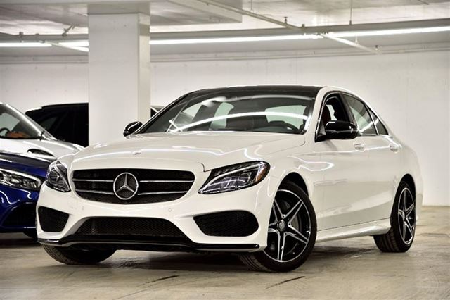 2017 mercedes benz c class c300 4matic sedan special dem for Mercedes benz quebec