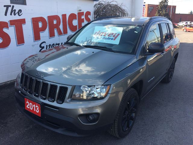 used 2013 jeep compass sport north 4x4 rempote starter. Black Bedroom Furniture Sets. Home Design Ideas