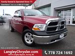 2012 Dodge RAM 1500 ST ACCIDENT FREE w/ 4X4 & TOW PACKAGE in Surrey, British Columbia