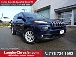 2015 Jeep Cherokee Limited ACCIDENT FREE w/ 4X4 & MULTIPLE TERRAIN OPTIONS in Surrey, British Columbia