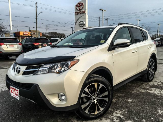 2015 toyota rav4 xle xle awd xtra warranty more alpine white vandermeer toyota cobourg. Black Bedroom Furniture Sets. Home Design Ideas