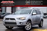 2012 Mitsubishi Outlander LS 4x4 Sunroof Backup Cam Keyless_Entry Bluetooth 17Alloys in Thornhill, Ontario