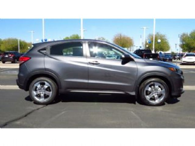 2017 honda hr v lx fwd grey lease busters for 2017 honda hr v overall nhtsa safety rating