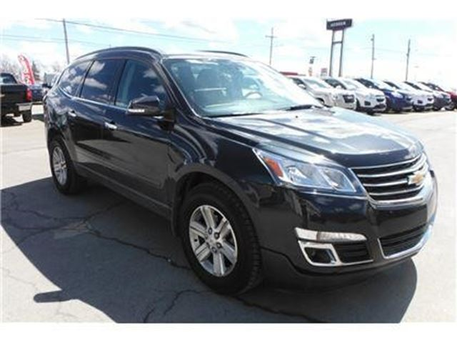 used 2014 chevrolet traverse v6 cy 1lt new glasgow. Black Bedroom Furniture Sets. Home Design Ideas