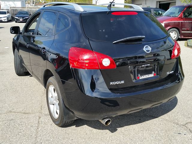 2009 nissan rogue sl all wheel drive and sunroof and blue tooth brampton ontario used car for. Black Bedroom Furniture Sets. Home Design Ideas