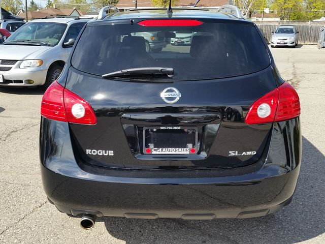 2009 nissan rogue sl all wheel drive and sunroof and blue. Black Bedroom Furniture Sets. Home Design Ideas