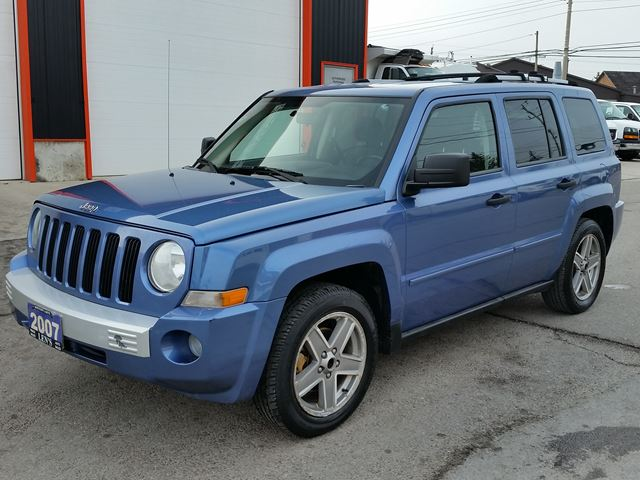 2007 jeep patriot limited 4wd 5spd jarvis ontario used. Black Bedroom Furniture Sets. Home Design Ideas