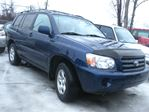 2005 Toyota Highlander 2005 TOYOTA HIGHLANDER V6 4X4 LOADED ! 12M.WRTY+SAFETY $6990 in Ottawa, Ontario