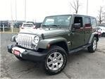 2015 Jeep Wrangler Unlimited SAHARA**NAVIGATION**6.5 INCH TOUCHSCREEN**BLUETOOT in Mississauga, Ontario