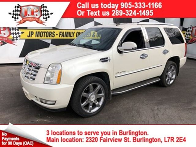 2009 CADILLAC ESCALADE Automatic, Leather, Sunroof, Third Row Seating, AW in Burlington, Ontario