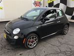 2015 Fiat 500 Sport, Automatic, Leather, Bluetooth in Burlington, Ontario