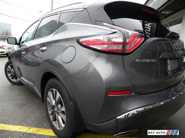 2016 nissan murano sv awd navigation rear camera push button start toronto ontario used. Black Bedroom Furniture Sets. Home Design Ideas