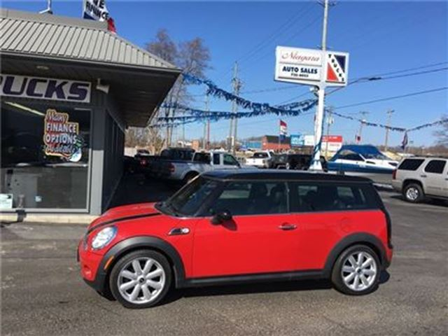 2009 MINI COOPER LITTLE RED ROCKET !! SHARP !! in Welland, Ontario