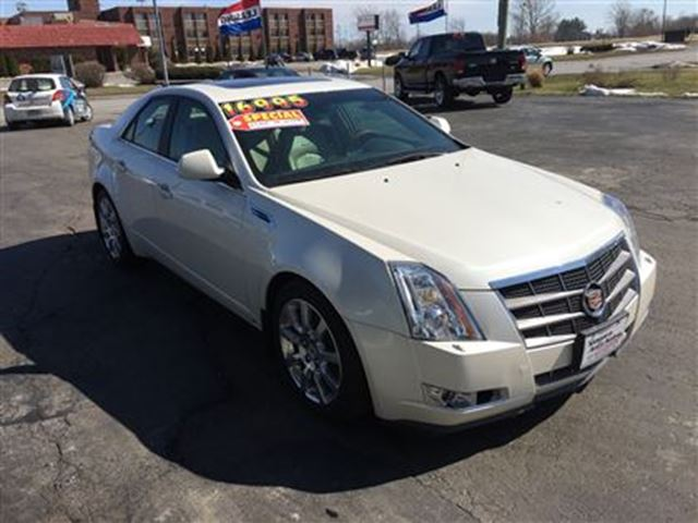 2009 cadillac cts v6 all wheel drive we finance welland ontario used car for sale 2712322. Black Bedroom Furniture Sets. Home Design Ideas
