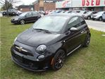 2015 Fiat 500 ~ TURBO 160 hp ~ LEATHER ~ SUNROOF ~ LOW MILEAGE ~ in Toronto, Ontario