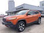 2016 Jeep Cherokee Trailhawk LEATHER...NAV in Simcoe, Ontario