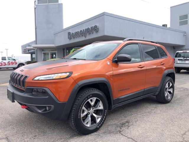 2016 jeep cherokee trailhawk leather nav simcoe. Black Bedroom Furniture Sets. Home Design Ideas