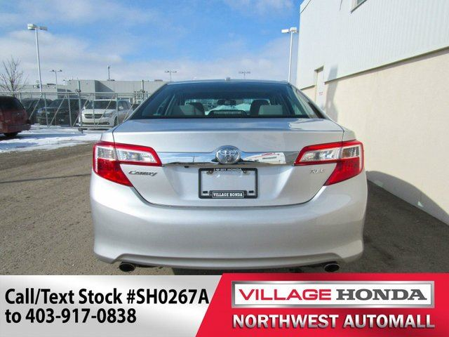 2012 toyota camry xle v6 calgary alberta used car for. Black Bedroom Furniture Sets. Home Design Ideas